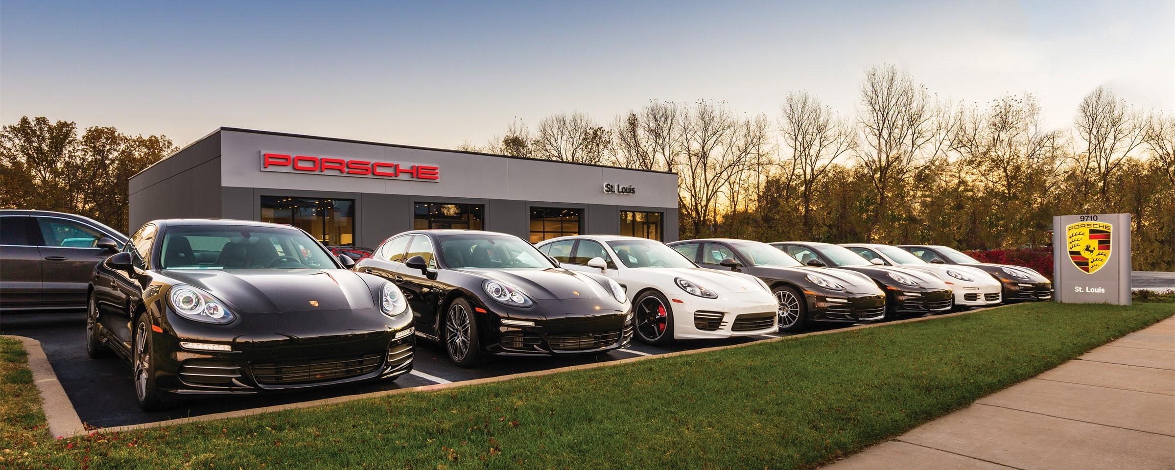 Porsche St Louis Named Top Dealer