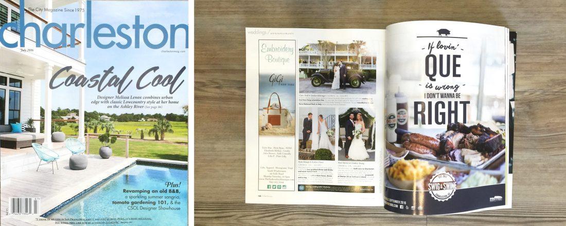 Swig Amp Swine Ad Appears In Charleston Magazine S July Issue