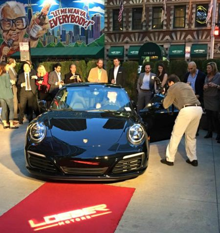 Loeber Motors Porsche 911 Launch, Chicago, Illinois.