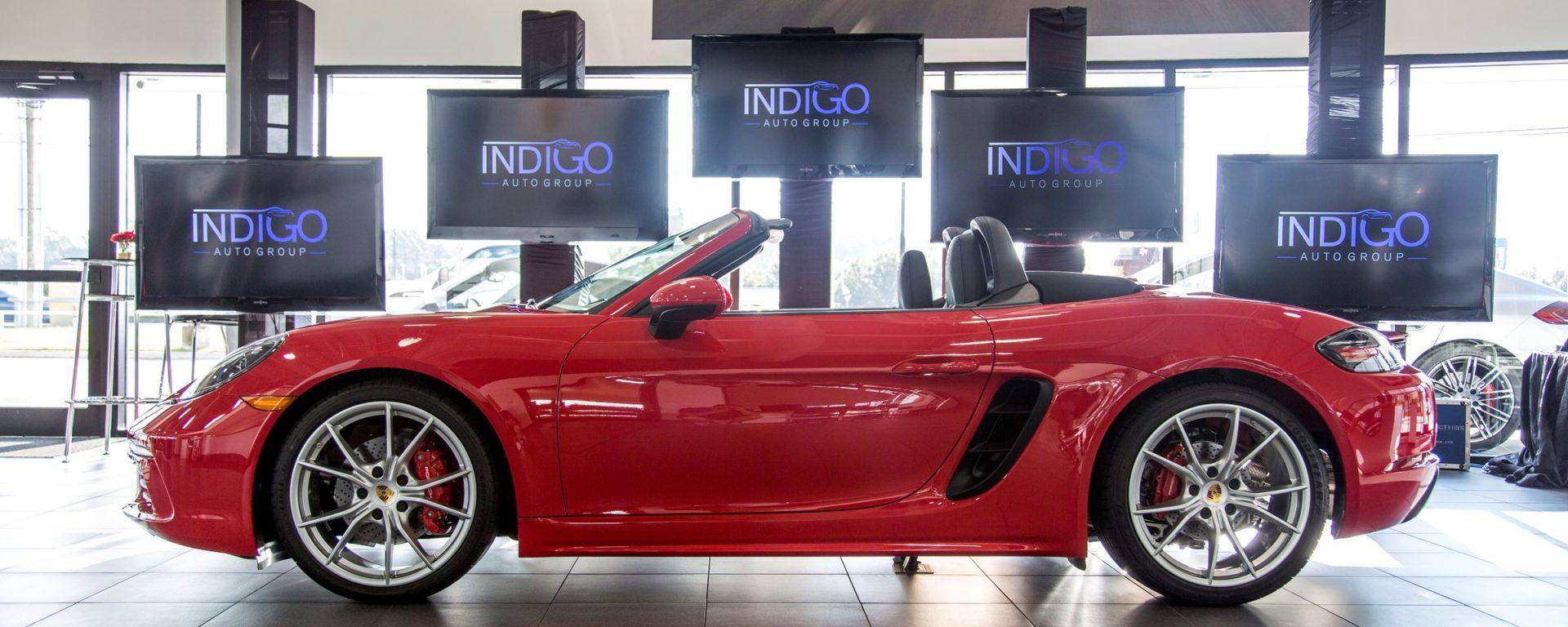 Porsche of North Houston Boxster Launch