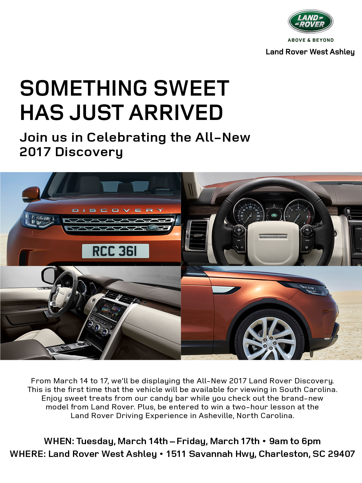 Join Us in Celebrating the All-New 2017 Discovery