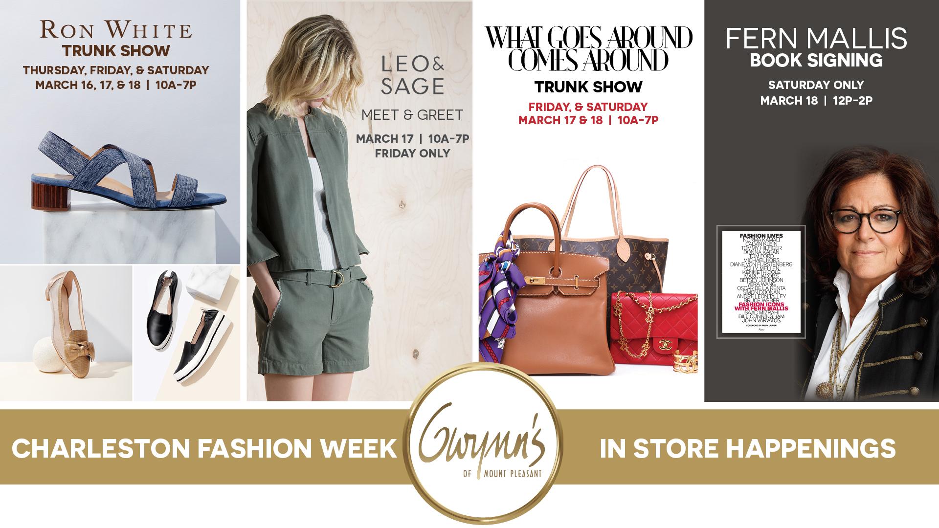 Fashion Week Happenings At Gwynn S Of Mount Pleasant