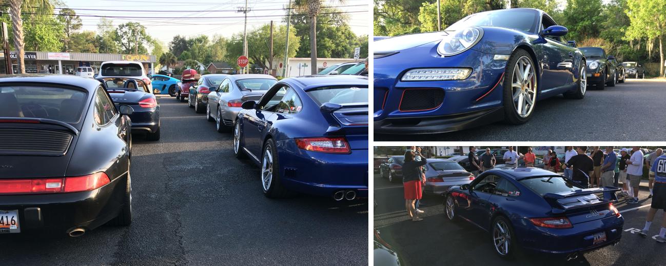 Baker Motor Company Hosts Porsche Club Of America